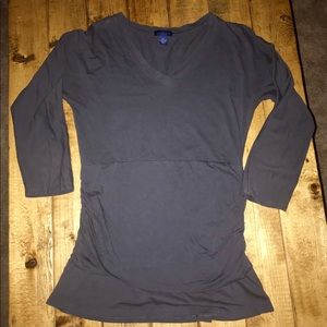 Lilla P- 100% Pima cotton- 3/4 sleeve top